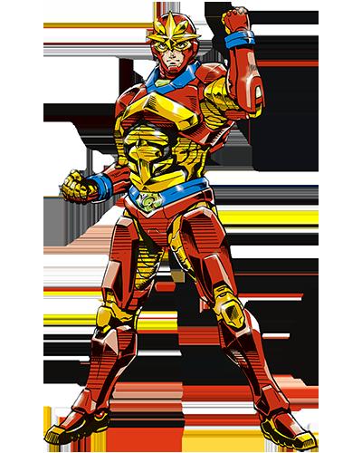 アメコミヒーロー(レッド)
